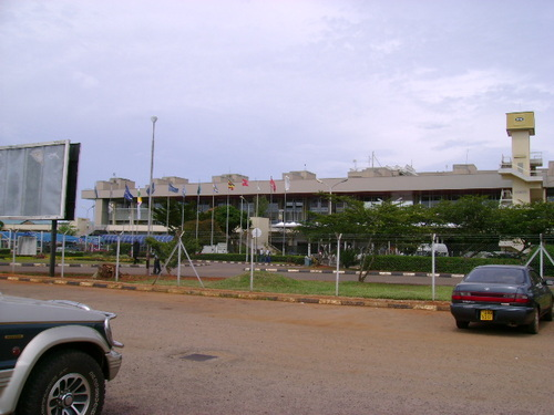 Entebbe Airport in Uganda