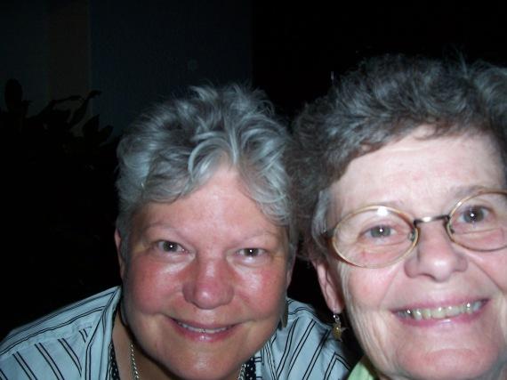 Lynne M. Cooper and Sister JoAnn Geary, CSJ in Gulu