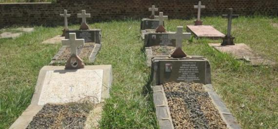cemetery yard in Gulu